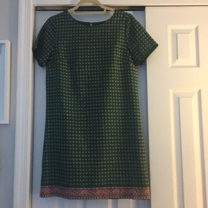 Short sleeve J Crew Mini Dress
